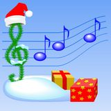 Christmas music Royalty Free Stock Photo