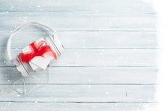Christmas music gift concept Royalty Free Stock Image