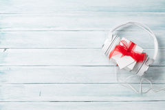 Christmas music gift Stock Photography