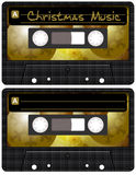Christmas Music Tape Royalty Free Stock Photo