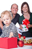 Christmas with my family Royalty Free Stock Photo