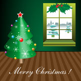 Christmas in my room Royalty Free Stock Photo