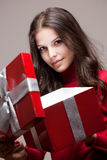 Christmas mystery. Royalty Free Stock Photography