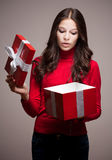 Christmas mystery. Royalty Free Stock Image