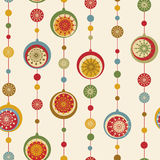 Christmas nad New Year seamless background Stock Photo