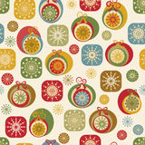 Christmas nad New Year seamless background Royalty Free Stock Photo