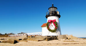 Christmas at Nantucket Stock Photos