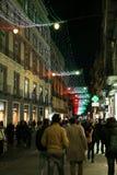 Christmas in napoli Stock Photo