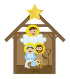 Christmas nativity Stock Photos
