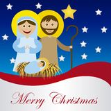 Christmas nativity Stock Images
