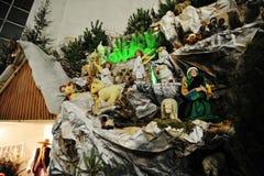 Christmas nativity crib sets Royalty Free Stock Photography