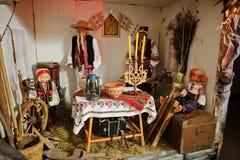 Christmas nativity crib sets Stock Image
