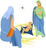 Christmas Nativity/eps Stock Photo