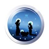 Christmas nativity icon