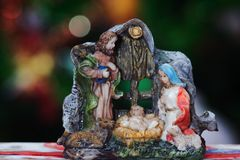 Christmas Nativity Jesus Birth royalty free stock photo