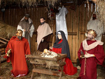 Christmas Nativity Scene Royalty Free Stock Photography