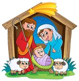 Christmas Nativity scene 2 Royalty Free Stock Photos