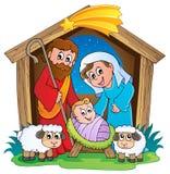 Christmas Nativity scene 2 Royalty Free Stock Photos
