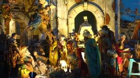 Christmas Nativity Scene stock footage