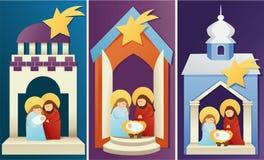 Christmas nativity scene Stock Image