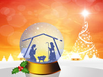 Christmas Nativity Scene Royalty Free Stock Photo