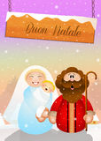 Christmas Nativity scene Stock Photography