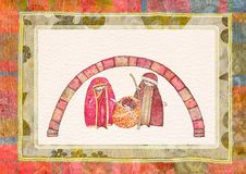 Christmas nativity scene Royalty Free Stock Photos