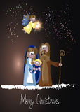 Christmas Nativity Scene Stock Photography