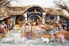 Christmas nativity scene Royalty Free Stock Image