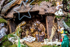 Christmas nativity scene Royalty Free Stock Images