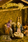 Christmas Nativy Scene stock images