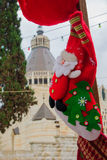 Christmas in Nazareth Royalty Free Stock Photos