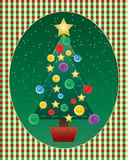 Christmas needlework Stock Photography