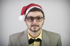 Christmas Nerd Royalty Free Stock Images
