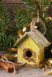 Christmas nesting box Royalty Free Stock Image
