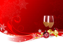 Christmas and new year Stock Image