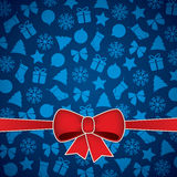 Christmas & New Year. Christmas and New Year. Vector greeting card stock illustration