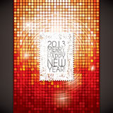 Christmas & New Year. Christmas and New Year. Vector greeting card vector illustration