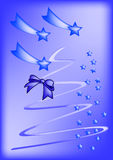 Christmas, New Year. Christmas or New Year greeting card. Vector Stock Photos