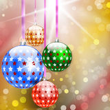 Christmas and New Year abstract background Royalty Free Stock Photography