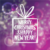 Christmas and new year abstract background with Royalty Free Stock Photo