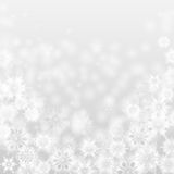 Christmas and New Year abstract background. With snowflakes royalty free illustration