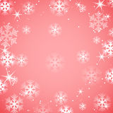 Christmas and New Year abstract background. With snowflakes vector illustration