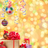 Christmas and New Year background-03 Stock Photography