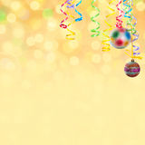 Christmas and New Year background-04 Stock Photography