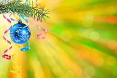 Christmas and New Year background-04 Stock Images
