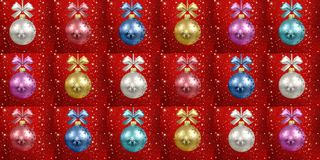 Christmas and new year stock illustration