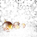 Christmas and New Year background.  Stock Photos