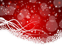 Christmas and New Year background. Vector illustration Royalty Free Stock Photos