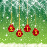 Christmas and New Year background. Christmas and New Year green background abstract Stock Images